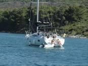 Yacht mit Crew