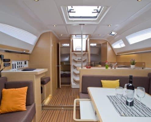 Yachtcharter Kroatien Segelyacht 25
