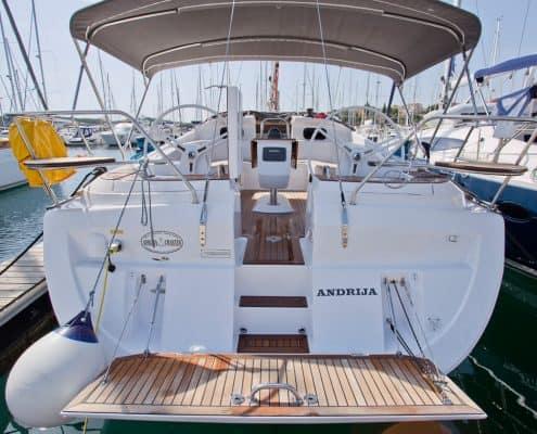 Yachtcharter Kroatien Segelyacht 27