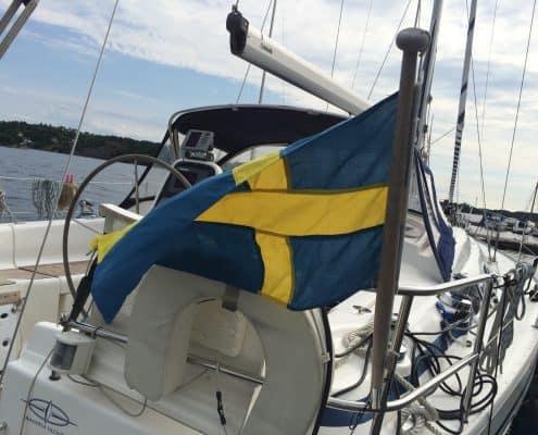Segeln in Schweden