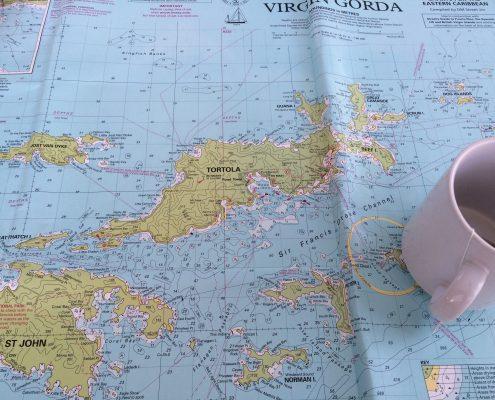Navigation beim Sportbootführerschein