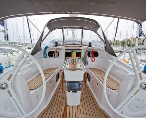 Yachtcharter Kroatien Segelyacht 36