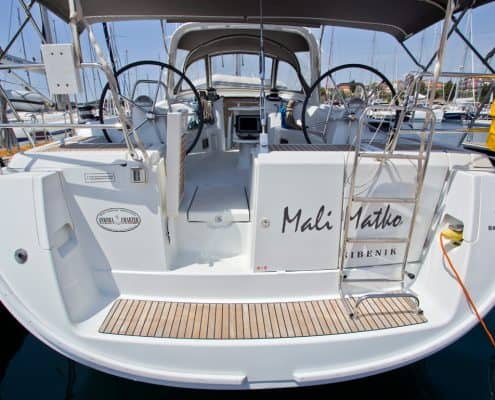 Yachtcharter Kroatien Segelyacht 6