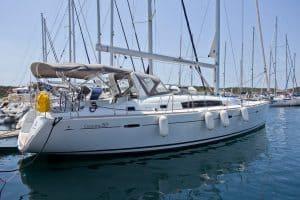 Yachtcharter Kroatien Segelyacht 7