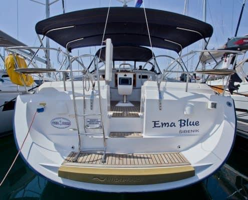 Yachtcharter Kroatien Segelyacht 21