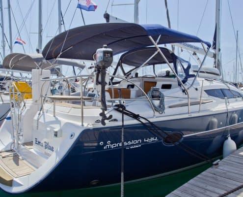 Yachtcharter Kroatien Segelyacht 31