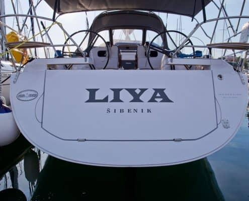 Yachtcharter Kroatien Segelyacht 9