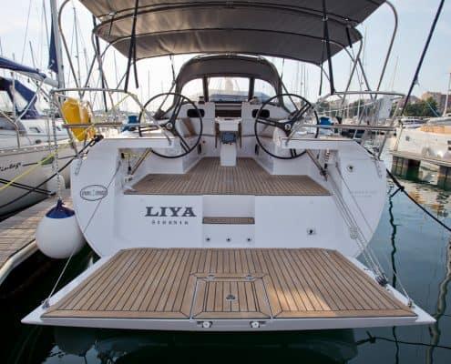 Yachtcharter Kroatien Segelyacht 10