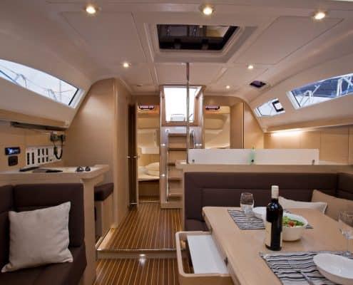 Yachtcharter Kroatien Segelyacht 14