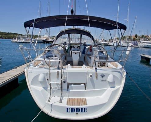Yachtcharter Kroatien Segelyacht 37