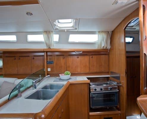 Yachtcharter Kroatien Segelyacht 34