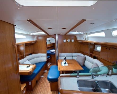 Yachtcharter Kroatien Segelyacht 35