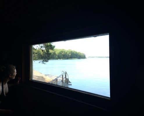Sauna in Finnham