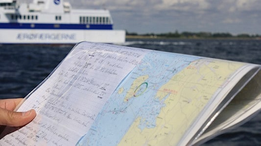 Navigation in Dänemark